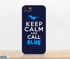 Keep Calm And Call Blue (Phone Case)