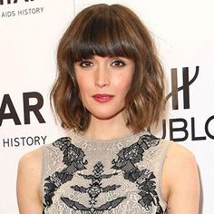 Bob & Bangs   seriously want to go back to this style.    http://www.easyliving.co.uk/beauty/hair/celebrity-hairstyles/rose-byrne