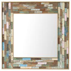 Specchio in legno H 90 cm BOHÈME