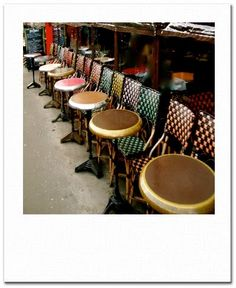 french cafe stools