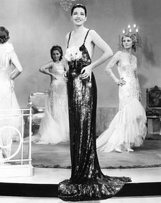 "deforest: "" Kay Francis wearing an Orry-Kelly gown in Stolen Holiday (1937) """