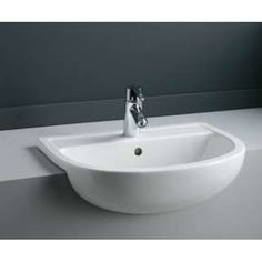 Wonderful Fitted Furniture Ideal Standard Space 55cm Semi Recessed Basin Vado