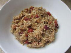 Mela Cannella Farina d'avena - Prima Colazione sana ricetta in Una ciotola