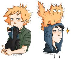Craig x Tweek ~ kitty cats