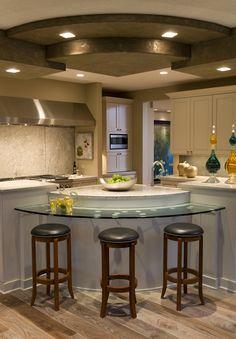 Stylish kitchen with amazing ceiling - plan #013S-0015 | houseplansandmore.com