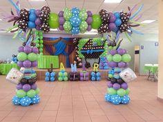 Lindas #decoraciones en globos para #fiestasinfantiles y eventos empresariales llámanos aquí 3134205547 / 3016039557 4013122/ 4125568