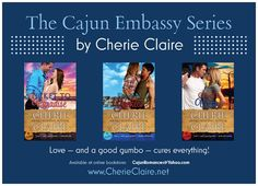 The Cajun Embassy contemporary series by Cherie Claire. Debuting this summer.