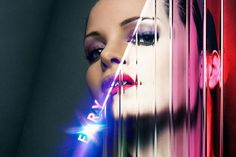 Photoshop Tutorial: MDNA Cover