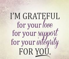 I Am Really And Truly So Thankful For All Of You Xo Mrs French
