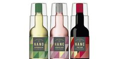 The single-serve award-winning wine comes in unbreakable #plastic #packaging for added portability.
