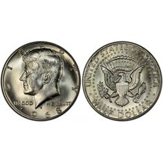 1988 P Kennedy Half Dollar in BU condition