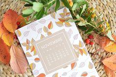 DESCARGABLE NOVIEMBRE - ALL YOUR SITES Calendar, Content, Cover, November, Blanket