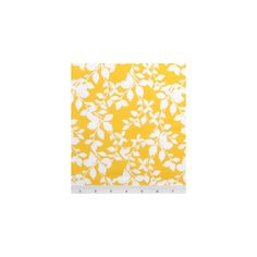 Quilter's Showcase Fabric-Leaves On Branches White On Yellow : keepsake calico fabric : quilting fabric & kits : fabric : Shop | Joann.com found on Polyvore