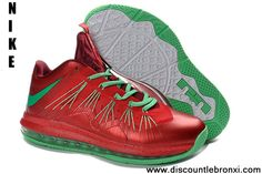 Wholesale Cheap 343115 600 Watermelon 2013 Nike Air Max Lebron 10 Low Sports Shoes Store