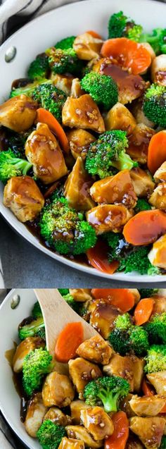 This Honey Garlic Chicken Stir Fry from Dinner at the Zoo is full of tender chicken and fresh veggies, all coated in a sweet and savoury sauce! It's a healthy dinner option that the whole family will go crazy for!