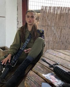 beautiful soldier, without uniform, female, soldier Military Women, Military Jacket, Israeli Female Soldiers, Israeli Girls, Idf Women, Army Police, Military Units, Girl Blog, Beautiful Women