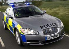 Police in a 2009 Jaguar !