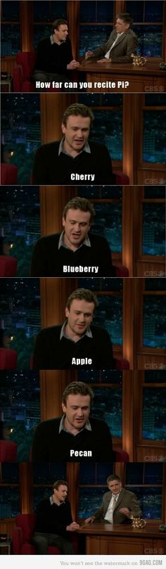 Jason Segel.  Love. Him.