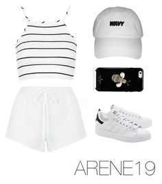 """""""Untitled #104"""" by gr20gk on Polyvore featuring Chloé, Topshop, adidas Originals and Kate Spade"""