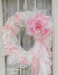 Marie Antoinette Pink Princess Lace Tulle by Oliviasromantichome, $121.00