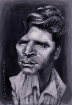 Burt Lancaster by StudioCandia on DeviantArt