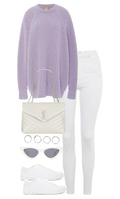 """Untitled #5559"" by theeuropeancloset on Polyvore featuring Topshop, Michael Kors, rag & bone, Yves Saint Laurent, Boohoo and Le Specs"