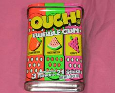 Band aid bubble gum... Oh I remember this from when I was little!!! Now I'm craving it!
