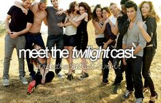 hahaha I know this sounds lame... but half the cast is good, the other half I just wanna slap for making Twilight such a joke.