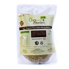 Organic Pearl Millet Whole (Bajra)