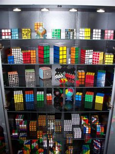 puzzle collection. Rubik's cube collection