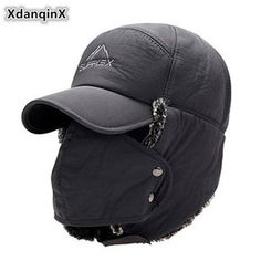 Unisex Thicken Warm Trapper Hat with Removable Mouth Mask /& Ear Flaps Winter Faux Fur Lining Bomber Hat Thermal Windproof Outdoor Sports Trooper Hat Full Face Mask Skiing Cycling Hiking Camping Hat