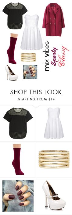 """""""Mix Vibes Today"""" by vivianrose-11 on Polyvore featuring adidas, Juicy Couture, Richer Poorer and Ellie"""