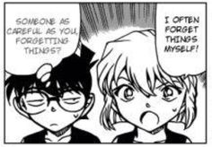 Conan's thoughts and facial expression is sure funny
