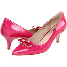 Kitten Heels - Patent Leather - Pink.  What more could you ask for!