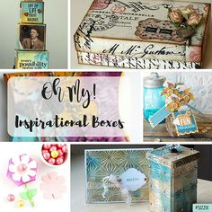 Don't Get Boxed In: 105 Boxes We LOVE! / Sizzix Blog - The Start of Something You
