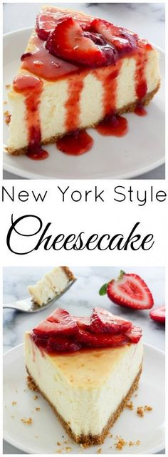 Learn how to make The Best New York-Style Cheesecake right at home! Learn how to make The Best New York-Style Cheesecake right at home! Food Cakes, Cupcake Cakes, Cupcakes, Muffin Cupcake, Sweets Cake, Coconut Dessert, New York Style Cheesecake, New York Baked Cheesecake, Cheesecake Pie