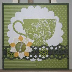 Stampin Up Tea Shoppe