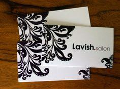 Lavish Salon business cards