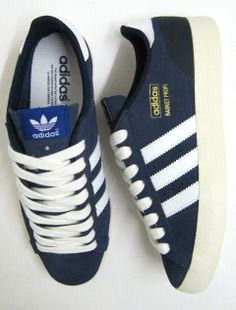 save off dc0f2 28f61 Adidas Basket Profi Lo Trainers in Dark Navy,adidas basket profi vintage  original - Yeah