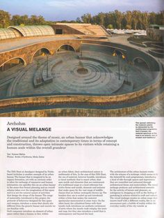 Dilli Haat Janakpuri designed by Archohm gets an exquisite coverage in Domus India, October 2014 issue.