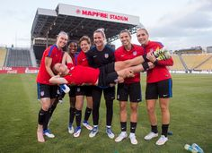 Gallery: WNT Gets Back in the Swing of Things Ahead of Thailand Friendly - U.S…
