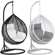 Cute Bedroom Ideas, Cute Room Decor, Teen Room Decor, Room Ideas Bedroom, Diy Bedroom Decor, Bedroom Decor For Teen Girls, Teen Bedrooms, Hanging Egg Chair, Swinging Chair