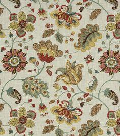 DIY Curtain Panels-Robert Allen Spring Mix SpringUpholstery Fabric-Robert Allen Spring Mix Spring,