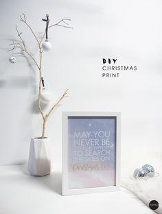 Diy Christmas prints | TOMFO