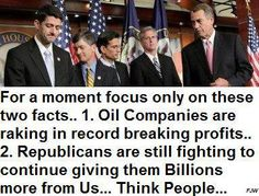 Think for yourself for a moment. Turn off Fox news and just think. Why are you supporting that? Seriously!! Cut Corporate Welfare MOOCHERS!!!!