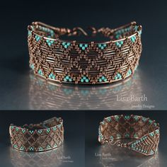 I made this bracelet with the techniques from my book, Timeless Wire Weaving.   If you'd like to learn how to do this, you sure can.  Here is the link to see:  http://www.amazon.com/Timeless-Wire-Weaving-Complete-Course/dp/1627000763/ref=sr_1_1?ie=UTF8&qid=1407288793&sr=8-1&keywords=timeless+wirework