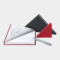 Triangle Notebook by Tan Mavitan - Design Milk