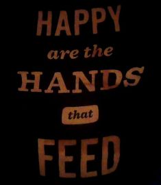 Happy are the hands that feed. #jbjsoulkitchen   https://www.jbjsoulkitchen.org/