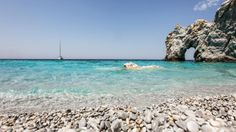 lalaria beach skiathos island nick karvounis