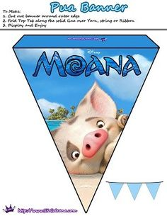 Free Moana Printable Activities